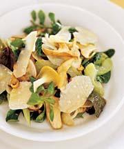 Porcini Mushroom and Celery Salad